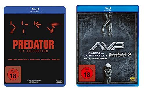 Predator – Mega Collection – Teil 1 2 3 4 + Alien vs. Predator 1 & 2 Blu-Ray