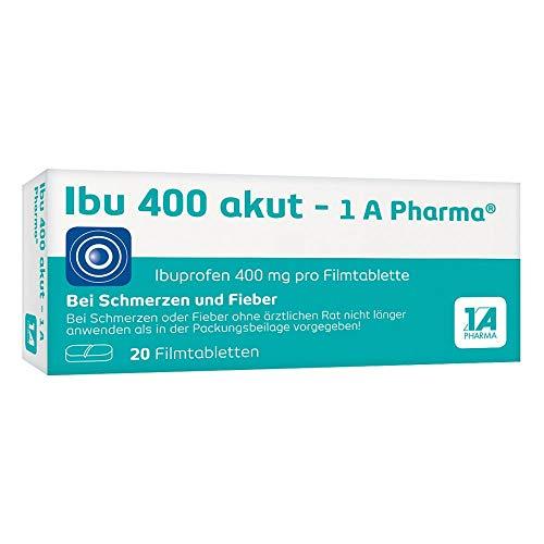 Ibu 400 akut - 1 A Pharma Filmtabletten, 20 St. Tabletten