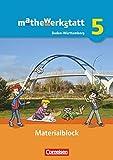 mathewerkstatt - Mittlerer Schulabschluss Band 5 - Baden-Württemberg - Materialblock: Arbeitsmaterial mit Wissensspeicher