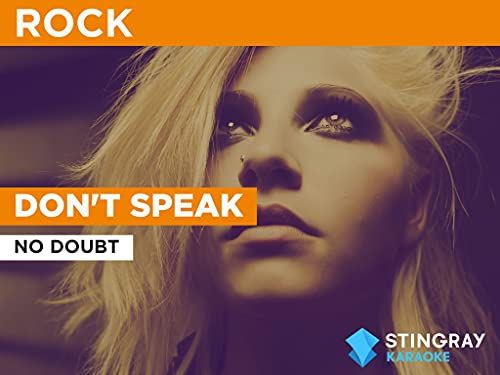 Don't Speak in the Style of No Doubt