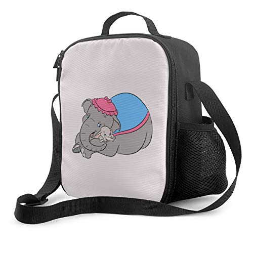 Lunch Bag Insulated Lunch Box Dumbo Tote Bag Cooler Bag Meal Prep Containers For Women Men Adults