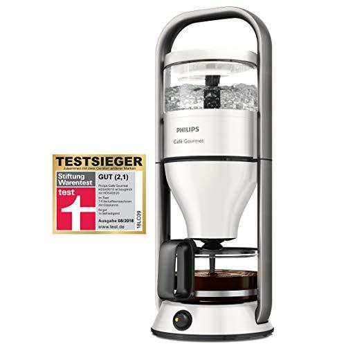 Philips HD5408/10 Cafe Gourmet Filter-Kaffeemaschine, Direkt-Brühprinzip, weiß