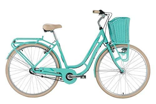 Genesis Damen Avenue 28 Cityrad Fahrrad, Türkis, 45