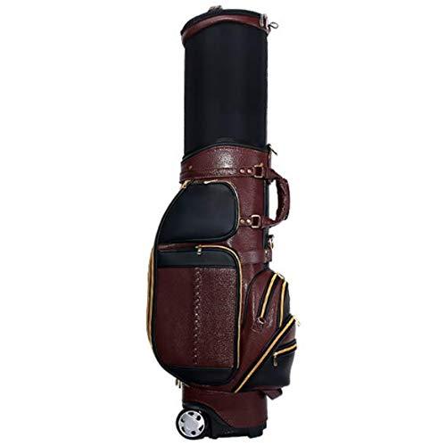 Best Bargain POSMA PGM-QB043BRW Travel Bag, Golf Club Carry Bag with Wheeled
