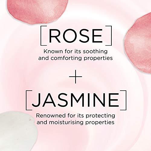 L'Oreal Paris Fine Flowers Rose & Jasmine Cleansing Gel-Cream Face Wash Dry & Sensitive Skin 150 ml