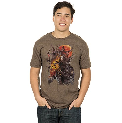 The Witcher 3 Monster Slayer Premium Tee - Size S [import anglais]