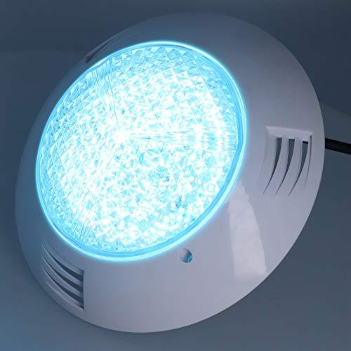 Blantye Luz de Piscina 300LED RGB Control Remoto Lámpara subacuática AC12V IP68 Impermeable 30W