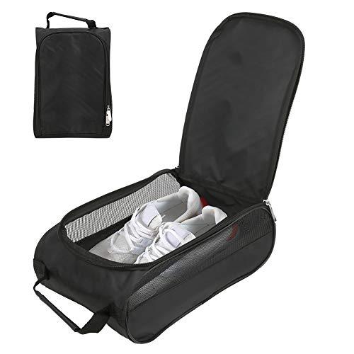 Soapow Sac à chaussures de golf en nylon respirant de grande capacité