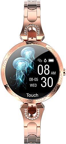 Reloj Inteligente Mujer Smartwatch Mujer Oro Rosa
