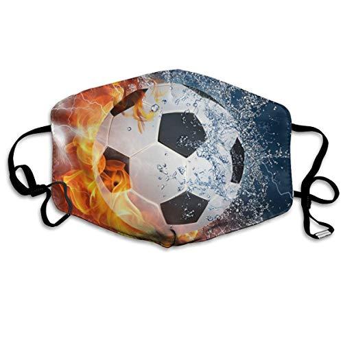 Mundschutz für Wasser, Feuer, Fu?ball, Flammenspritzer, Anti-Staub-Gesichtsabdeckung, winddicht