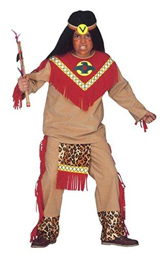 WIDMANN 36678?Toro scatenato disfraz Guerrero indio, 11?13años