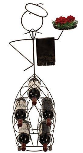 Mel O Design Moderna ed Enorme Bottiglia di Vino Servizio Altezza Stand 99 cm