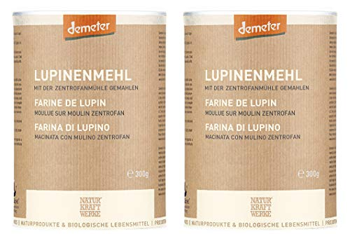Lupinenmehl Demeter, 2 x 300 g