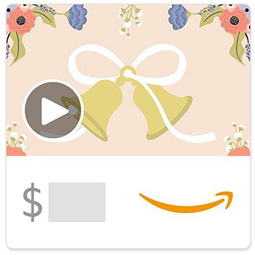 Amazon eGift Card - Wedding Bells (Animated)