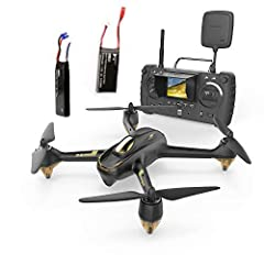 HUBSAN X4 H501S Pro Functions:5.8G FPV Real-time Video Transmission,1080P HD Camera,Follow Me Mode,Headless Mode, Altitude mode,Automatic Return,Fail-safe Mode,GPS accurate positioning location Drone with Camera:1080P HD camera and 4.3 inch FPV LCD s...