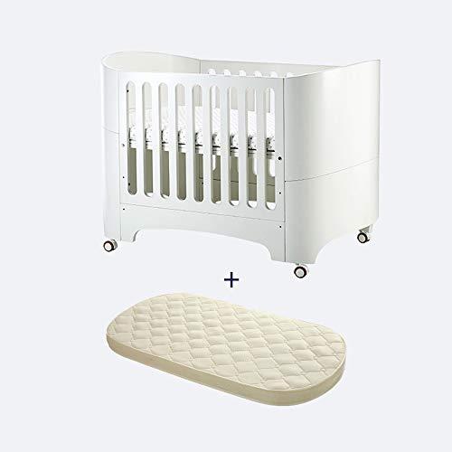 ZXM kinderbed, multifunctioneel, van massief hout, bed, kinderbank, bed, kinderbed, kinderstoel, afneembaar, 3-voudige hoogteverstelling