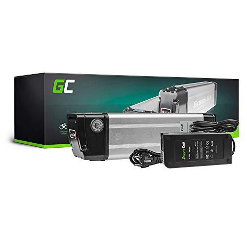 Green Cell EBIKE 8.8Ah 48V Batterie Akku Pedelec Silverfish mit Ladegerät und Li-Ion Panasonic Zellen für IGO Greenstreet Butchers & Bicycles Swagtron Elektrofahrräd