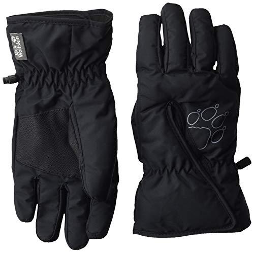 Jack Wolfskin Kinder Easy Entry Glove Kids Handschuhe, Black, 140