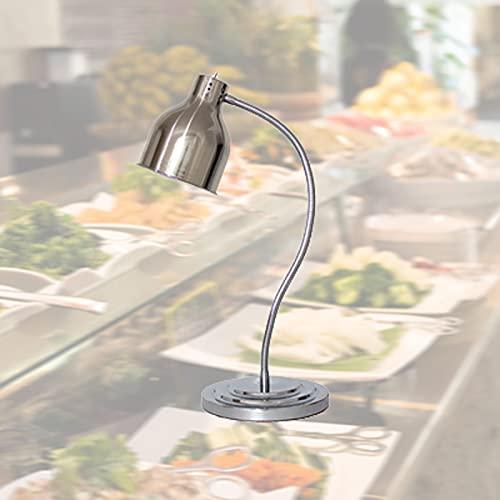 FGHFD 250W Food Lámpara Infrarroja, Lámpara de Calor de Alimentos Comercial, Bombilla de la Lámpara de Calor Alimentos Suministros para Restaurantes, Rango de Temperatura 50°C
