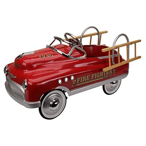 Blue Diamond Classics Murray Comet Style Pedal Car – Fire Truck Edition