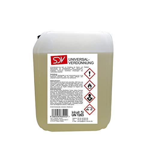 SDV Chemie Universalverdünnung 2x 5 Liter 10L Nitroverdünnung Waschverdünnung Lackverdünner