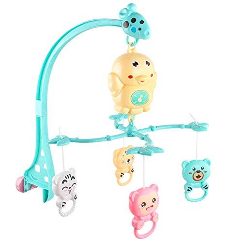 Nrkin Móvil musical para bebé, móvil de música, ayuda para dormir, juguete para bebés de 0 a 5 meses, se monta en la cuna