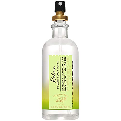 Bath and Body Works Aromatherapy Relax Sandalwood Eucalyptus Mandarin...