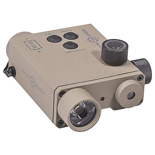 Sightmark LoPro Combo grün Laser/220Lumen Taschenlampe, dark earth