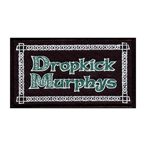 DROPKICK MURPHYS LOGO, Officially Licensed, Iron-On / Sew-On, Embroidered PATCH