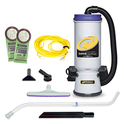 ProTeam Commercial Backpack Vacuum With HEPA Filtration