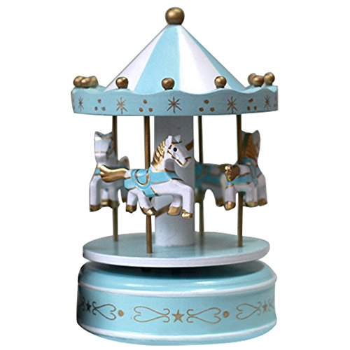 Classique carrousel tournant Musical Box Melody maison décoration enfant enfants vacances anniversaire cadeau Type C