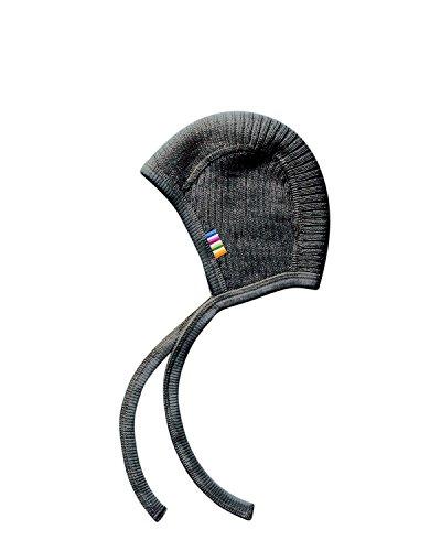Joha Baby Strickmütze/Häubchen, Wolle (45 cm, Grau)