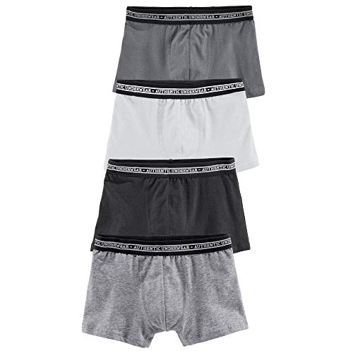 Le Jogger Authentic Underwear Jungen Boxershorts, 4 er Pack 889159, 574872, 547974 (134/140, Farb-Set 2)