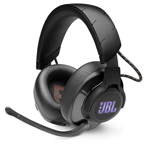 JBL Quantum 600 by Harman Wireless Over-Ear Performance Gaming Headset with QuantumSurround, Lossless 2.4GHz Wireless Connectivity,14 Hrs Battery Life (Black)