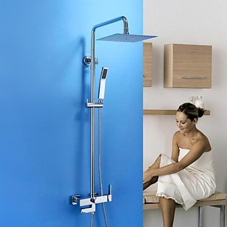 Miaoge miaoge Dusche Wasserhahn Moderne Regen Dusche Handbrause im lieferumfang enthalten Messing Chrom