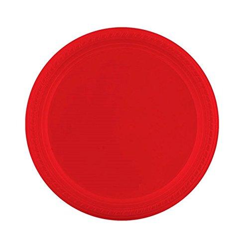 Garcia de pou Assiette De Couleur 26 Cm Rouge Ps - 500 unités