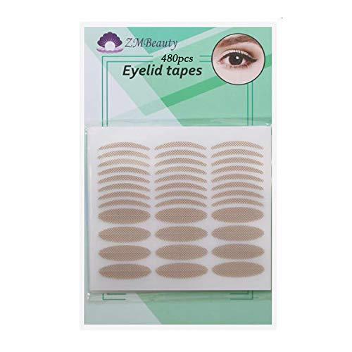 480Pcs Self-adhesive Single-sided Eyelid Tapes Double Eyelid Stickers Big...