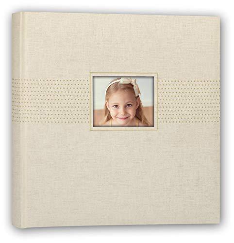 ZEP S.r.l. Amber fotoalbum om in te plakken, karton en papier, beige, boekformaat 24 x 24 cm