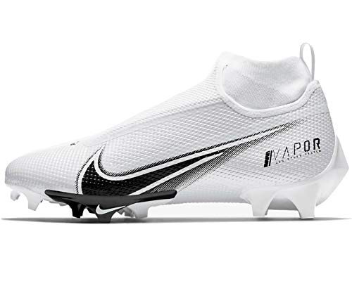 Nike Vapor Edge Pro 360 Mens Football Cleat Ao8277-100 Size 8 White/Black