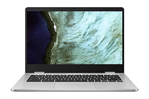 "Latest_ASUS Chromebook Laptop, 14"" HD Nano-Edge Display, Intel Celeron N3350, 4GB DDR4, 64GB eMMC, Chrome OS, Google Classroom Ready, Webcam, Wi-Fi, 1-Week Basrdis Support, Student / Business"