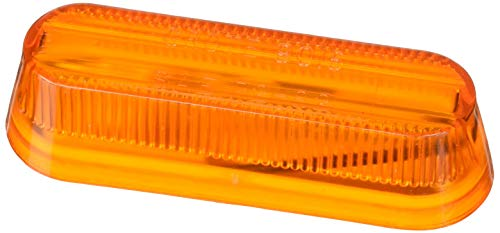 Grote 45253-5 Yellow Thin-Line Single-Bulb Clearance Marker Light