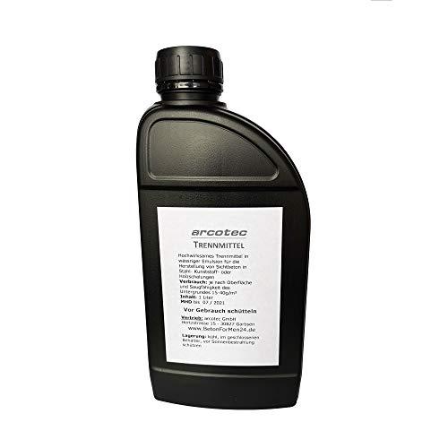 arcotec - Trennmittel 1 Liter (9,50 Euro/Liter) - Schalungsöl - Öl - Fluid - für Betonform Schalungsform Gießform