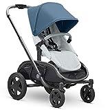 Quinny Hubb Mono XXL Shopping-Kinderwagen, großer Einkaufskorb, einfach klappbarer Kinderwagen,...