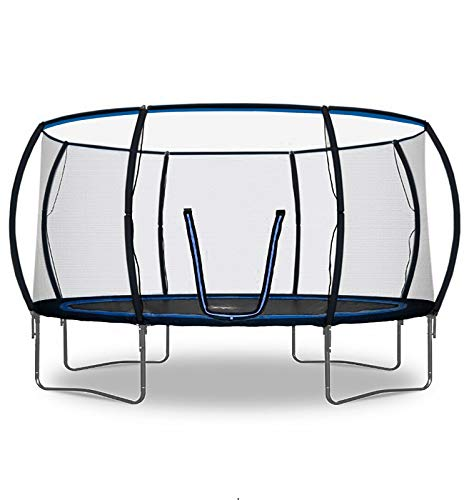 Rebo Jump Zone II Trampoline with Halo Safety Enclosure 2020 Model - 14FT
