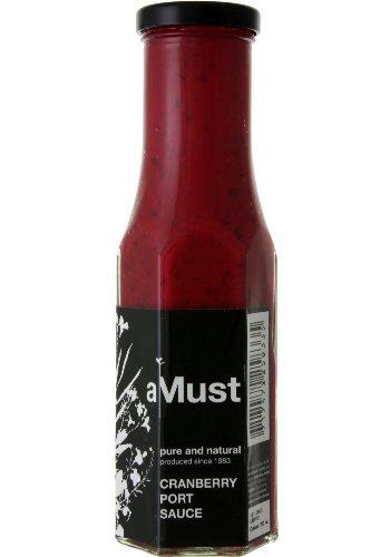 aMust Cranberry Port Sauce