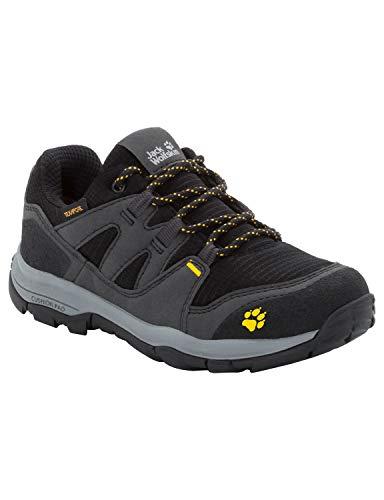 Jack Wolfskin Unisex-Kinder Mtn Attack 3 Texapore Low K Trekking-& Wanderhalbschuhe, Grau (Burly Yellow Xt 3802), 32 EU