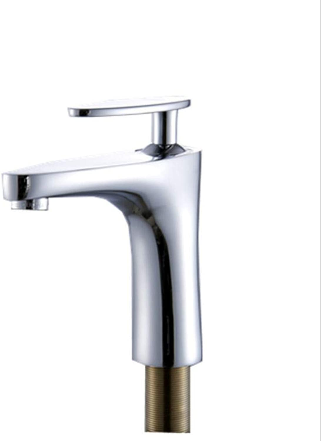 Ss Bathroom Basin Single Hole Sink Faucet Wash Basin Basin Copper Hot And Cold Mixing Faucet