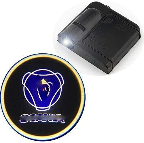 2 piezas for Coche insignia de la sombra emblemas luces,