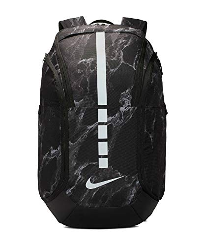 Nike Hoops Elite Pro Basketball Backpack One Size (Black/Black/Silver)