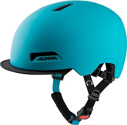 Alpina Unisex's BROOKLYN Helmet, Petrol matt, 52-57 cm